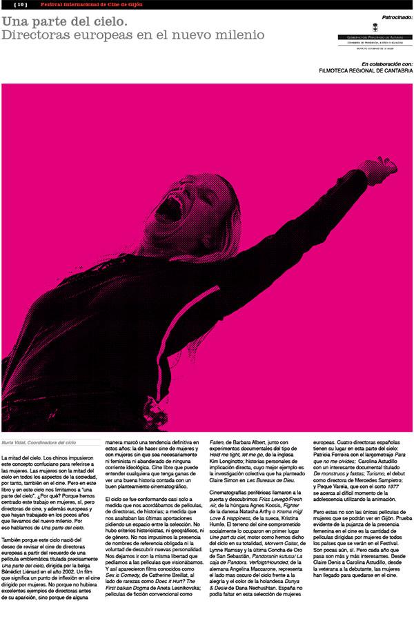 Diario Festival de Cine De Gijón. 20-11-2009